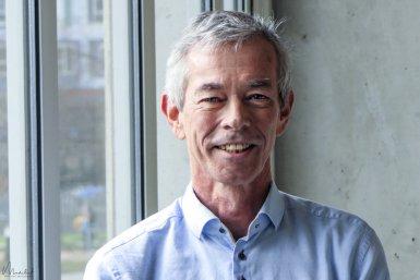 Portrait of Wim de Leeuw, head of Animal Welfare Body Utrecht